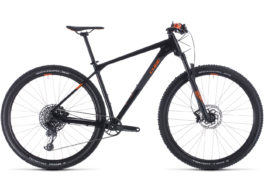 CUBE REACTION RACE BLACK'N'ORANGE 2020