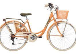 Cinzia 26″ BELLE EPOQUE Lady 6B V-Brake Peach orange