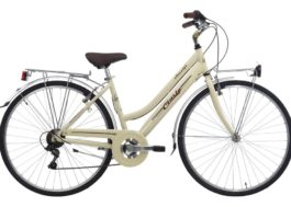 CINZIA 28″ ITALIA AMALFI LADY 6B V-BRAKE CREAM