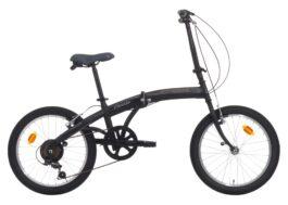 Cinzia 20″ C-FOLD TROLLEY 6B V-brake Matt black/grey